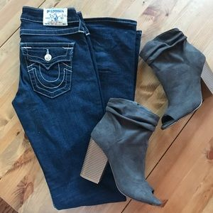 True Religion Becca Bootcut Jeans